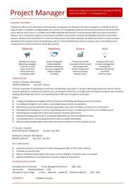 it project manager cv template  project management  prince   cv    project manager cv example