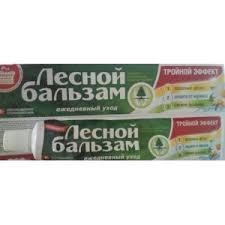<b>Зубная паста Лесной бальзам</b> Тройной эффект   Отзывы ...