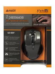 <b>Мышь V</b>-<b>Track</b> G10-810F <b>a4tech</b> 6674961 в интернет-магазине ...