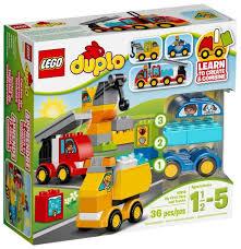 <b>Конструктор LEGO Duplo</b> 10816 <b>Мои</b> первые машинки ...
