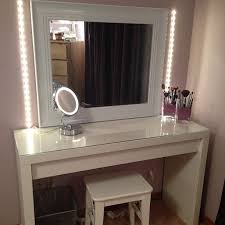 vanity set lights table mirror  sets with mirror centerpieces dfemale middot makeup vanity furniture