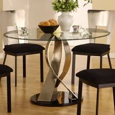 Round Dining Room Furniture Glass Round Dining Table Alkatk