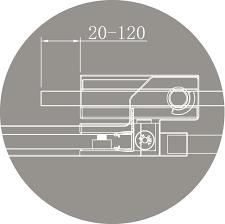 <b>Душевой уголок Cezares SLIDER</b>-AH-1-100/110-90-C-Cr, купить в ...