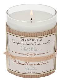 <b>Ароматическая свеча Perfumed Handmade</b> Candle White Tea 180г ...