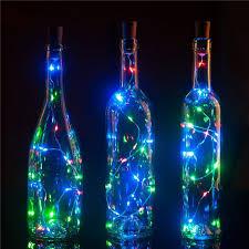 <b>1M 10 LED Wine</b> Bottle Cork LED Lights Copper Wire String Lights ...