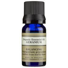Neal's Yard Remedies Organic Geranium Essential Oil 10ml | Free ...