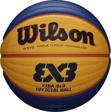 <b>Мяч баскетбольный Wilson Fiba 3X3</b> Official, желтый, синий ...