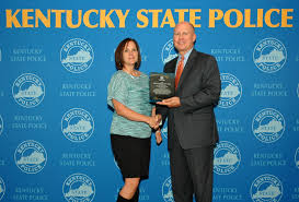 kentucky state police news release walton ky resident dacia wood received the kentucky state police civilian employee of
