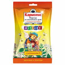 <b>Кармолис леденцы детские</b> мед/витамин с 75г купить по ...