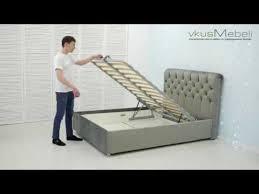 <b>Сборка</b> кровати с <b>подъемным механизмом</b> - YouTube