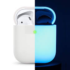 Shockproof Protective Premium <b>Silicone</b> Cover <b>Skin for AirPods</b> ...