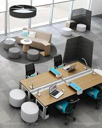 great designs for casual open meetings have you seen the turnstone campfire collection from steelcase trick question youre looking at it right now awesome open office plan coordinated