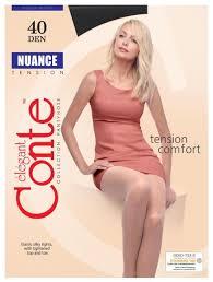 Купить <b>Колготки Conte Elegant Nuance</b> 40 den, размер 3, nero ...