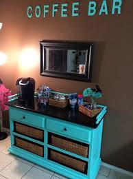 we turned an old dresser into a coffee bar for our daughter built coffee bar makeover