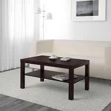 Купить ЛАКК <b>Журнальный стол</b>, черно-коричневый, 90x55 см по ...