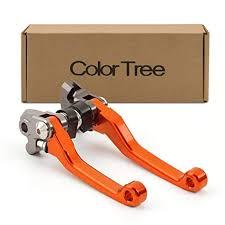 color tree CNC Aluminum Dirt Bike Pivot Brake Clutch ... - Amazon.com