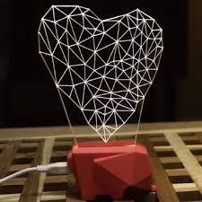 wom hope led art sculpture lights up night lights desk lamp with beech wooden cheap lighting effects
