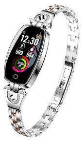 Купить <b>Умный браслет ZDK</b> H8 серебристый по низкой цене с ...