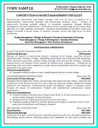 construction resume examples job sample resumes construction resume examples