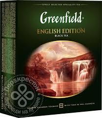 Купить <b>Чай черный Greenfield English</b> Edition 100 пак с доставкой ...