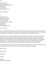 Resume Including Volunteer Work  application letter as volunteer
