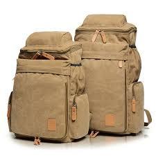 <b>Men Canvas</b> Casual Shoulder Bag <b>Outdoor</b> Travel <b>Sports</b> Backpack ...