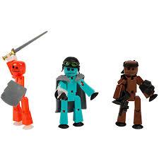 Купить <b>игровой набор</b> Zing <b>Stikbot</b> 3 фигурки <b>Stikbot Off</b> the Grid ...
