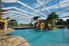 Simple Mansion With Indoor Pool Slides Homes For Sale Epic Water Slidescapecoral Intended Perfect Ideas