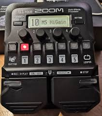 Обзор от покупателя на <b>Процессор</b> эффектов <b>Zoom</b> G1 FOUR ...