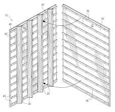 patent us6668504 sound deadened wall and wall panel for same patent drawing