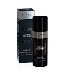 Hair and Beard Oil <b>ALPHA HOMME</b> | <b>Estel</b> Professional