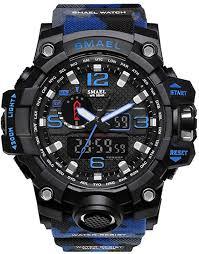 <b>Watches Men</b> Digital LED Military Analog <b>Outdoor Sport Watch</b>