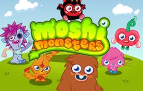 Resultado de imagem para Imagens de moshi monsters
