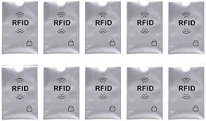 Security <b>Card Shield</b> -10 Credit <b>Card</b> RFID Protection, <b>Anti</b>-<b>Theft</b>