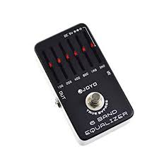 JOYO JF-11 <b>6</b>-<b>Band Equalizer Guitar</b> Effect Pedal: Amazon.co.uk ...