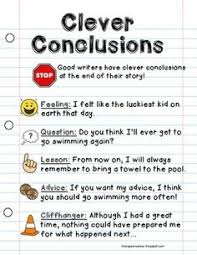 models  essay writing and student on pinterestconclusion writing poster anchor chart