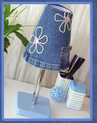 Image result for jeans lamp