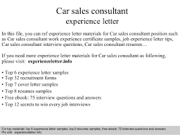 resume auto sales consultant auto sales resume