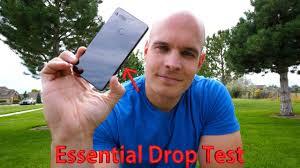Essential <b>Phone</b> Drop Test - TITANIUM and CERAMIC vs. <b>GRAVITY</b> ...