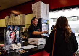 dicarlo s pizza a family affair weelunk mike minder serves as the director of operations for the three stores owned by toni dicarlo