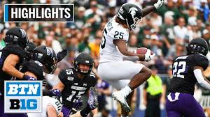 Highlights: Lewerke Leads Michigan State Past Northwestern | B1G ...