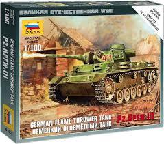<b>Звезда Сборная модель Немецкий</b> огнеметный танк Pz Kpfw III ...