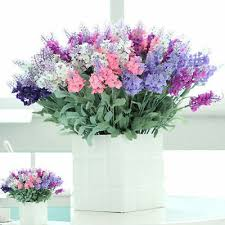 "14.6"" Bouquet <b>Lavender</b> Lavandula <b>Artificial</b> Flower Party Wedding ..."
