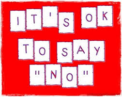 Motivational Monday's with 365 Days of Health and Fitness: Say NO!