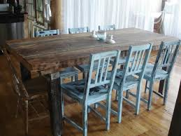 stylish brilliant dining room glass table:  awesome dining room impressive soft blue back distressed dining room and blue dining room chairs elegant blue dining table