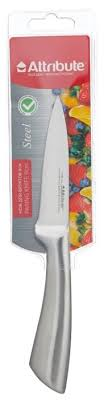 Купить <b>Attribute Нож для фруктов</b> Steel 9 см серебристый по ...
