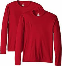 Hanes <b>Men's Long</b> Sleeve Cool Dri T-Shirt UPF 50+ (Pack of 2) at ...