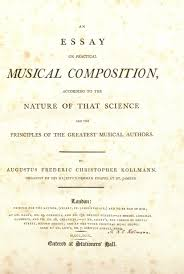 sonata form god save the king music from the british royal kollmann us frederic christopher 1756 1829 an essay on practical musical composition london author 1799 title page