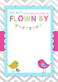 kids birthday invitations templates invitations ideas bird birthday party invitations template