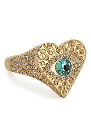 Женское золотое <b>кольцо</b> heart <b>SWAROVSKI</b> — купить за 7780 ...